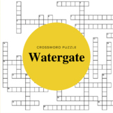 Watergate Crossword Puzzle