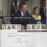 Watergate Nixon Recordings and Transcripts, FBI Review Files