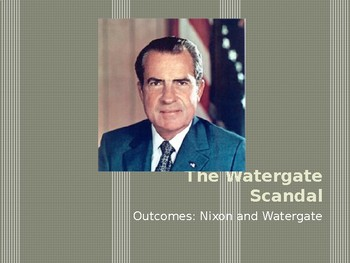 Watergate PowerPoint Lecture