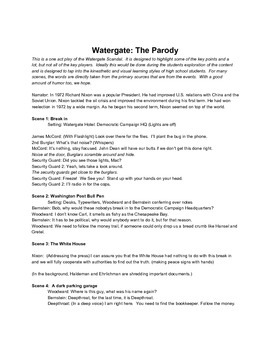 Watergate The Play