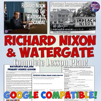 Watergate and Richard Nixon Lesson Plan