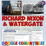 Watergate and Richard Nixon Lesson Plan