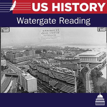 Watergate reading and questions