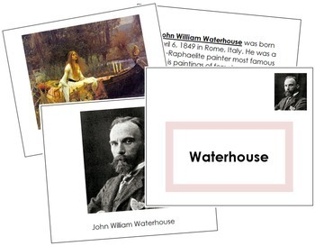 Waterhouse (John William) Art Book - Color Border