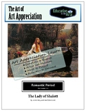 Waterhouse The Lady of Shalott Romantic Era