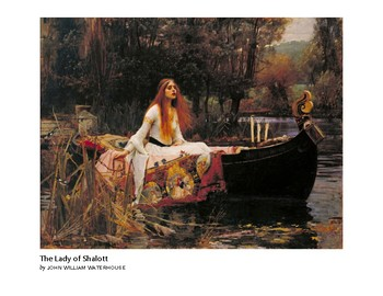 Waterhouse The Lady of Shalott Romantic Era