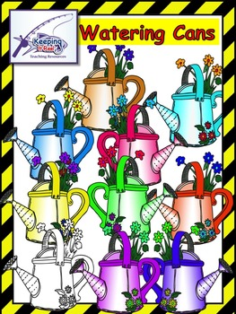 Watering Cans Clipart