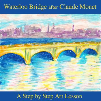 Waterloo Bridge after Claude Monet