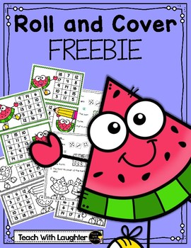 Watermelon - 3 Addend Roll and Cover FREEBIE