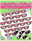 Watermelon ABC Match-up (Sensory Bin Mat)