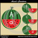 Watermelon Alphabet Movable Pieces