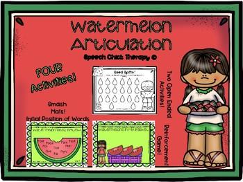 Watermelon Articulation Packet