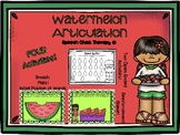 Watermelon Articulation Packet