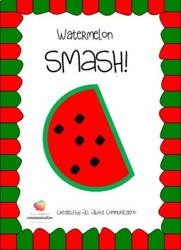 Watermelon Articulation or Langauge Smash