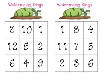 Watermelon Bingo