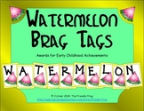 Watermelon Brag Tags