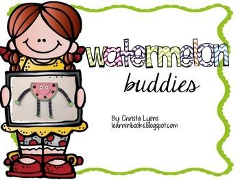 Watermelon Buddies Craftivity