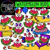 Watermelon Buds Clipart {Creative Clips Clipart}