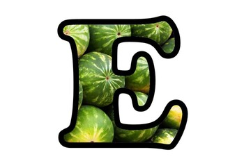 Watermelon Bulletin Board Letters, Numbers and Symbols, Summer Classroom Decor