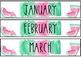 Calendar Kit-- Watercolor & Watermelon Theme