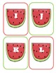 Watermelon Capital Alphabet Flash Cards