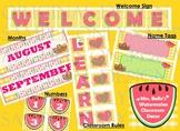 Watermelon Classroom - Bundle Decorations