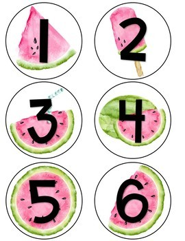 Watermelon Classroom Decor {EDITABLE}