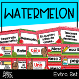 Watermelon Classroom Decor (Extras)