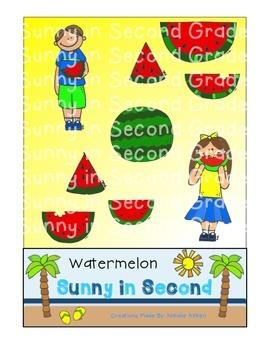 Watermelon Clip Art - FREEBIE