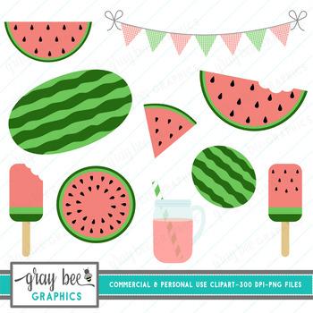 Watermelon Clip Art Pack