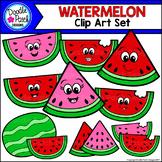 Watermelon Clip Art Set - Doodle Patch Designs