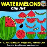 Watermelon Clip Art for Teachers
