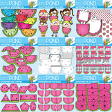 Watermelon Clipart Mega Pack