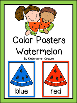 Watermelon Color Posters