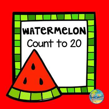 Watermelon Count to 20