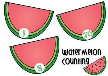 Watermelon Counting 1-20