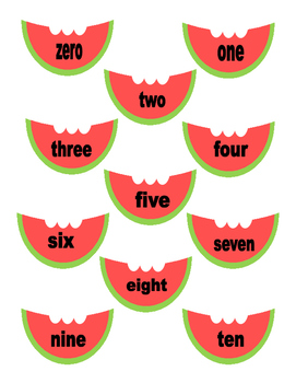 Watermelon Counting