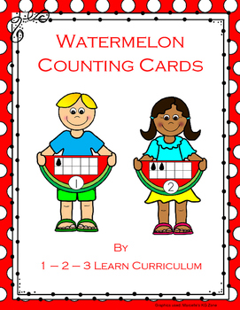 Watermelon Counting Frames