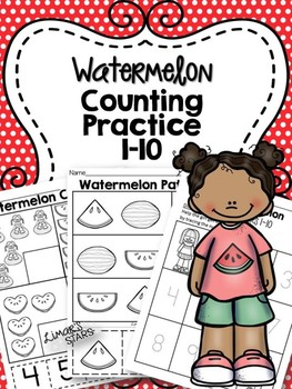 Watermelon Counting Practice 1-10