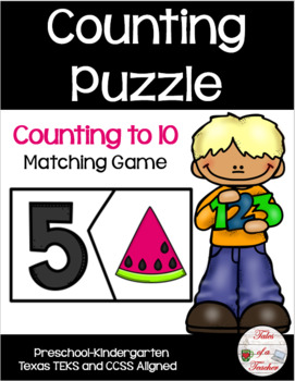 Watermelon Counting Puzzle