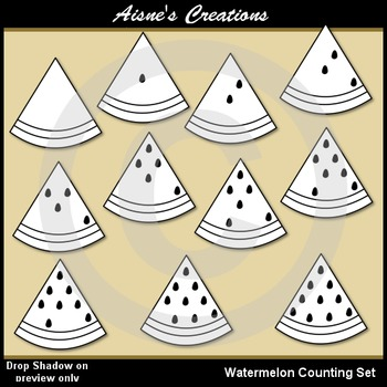 Watermelon Counting Set