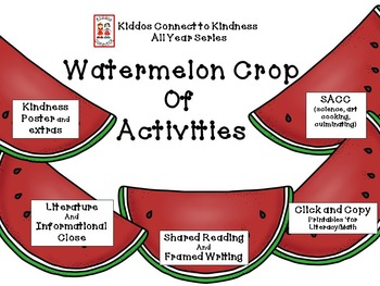Kindness-Watermelon Crop of Activities - Kiddos Connect All-Year to Kindness