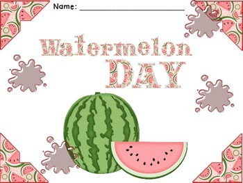 Watermelon Day Activity Pack