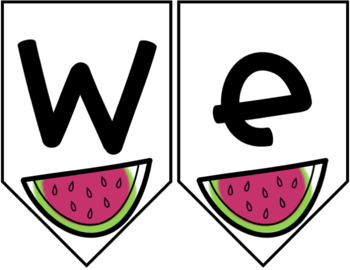 Watermelon Decor: Welcome Banners EDITABLE