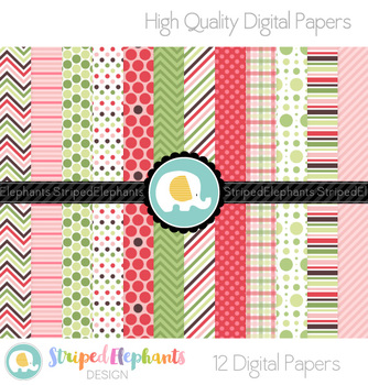 Watermelon Digital Papers 2