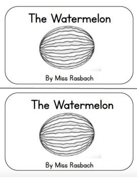Watermelon Emergent Reader