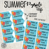 Watermelon End of School Summer Tags