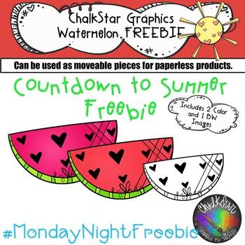 Watermelon Freebie- Chalkstar Graphics