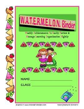 Watermelon {Fruit} Binder Cover