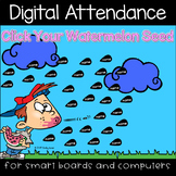 Watermelon Fun Digital Attendance (Smart Boards and Computers)